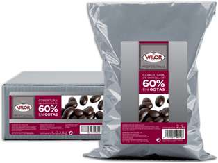Cobertura Chocolate Negro 60% VALOR