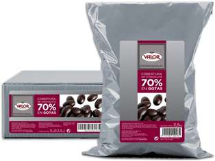 Cobertura Chocolate Negro 70% VALOR